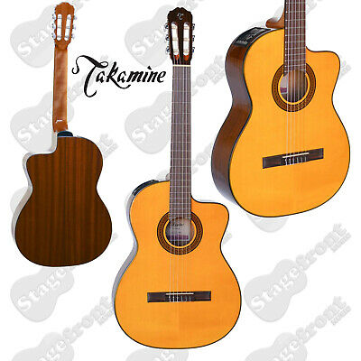 Takamine Gc3Ce Nat Acoustic/electric Classical Guitar Solid Top Gloss Finish