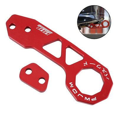 Epman Racing Red Colour Universal Rear Tow Hook For Honda Mazda Toyota Nissan
