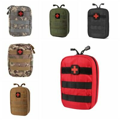 Outdoor First Aid Pouch Emergency Travel Camp Carry Bag Tactical EMT Medical UK