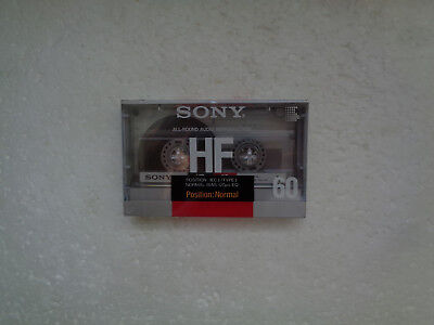 Vintage Audio Cassette SONY HF 60 * Rare From France 1988 *