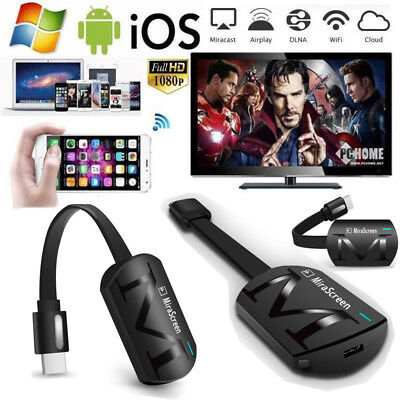 For Miracast Chromecast 2 Digital HDMI Media Video Streamer 3nd Generation Balck