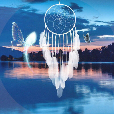 Life Tree Luminous Feather Fluorescent Dream Catcher Holy Night Gift Decorations