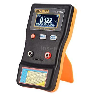 Auto Range In-circuit Test ESR Capacitor Meter Tester 0.001 to 100R MESR100 H1L4