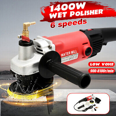 Variable Speed Wet Polisher Grinder Stone Polishing for Concrete Marble Granite