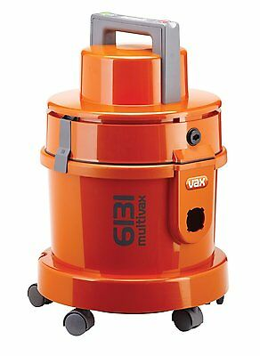 Vax 6131T 3-in-1 Canister Vacuum Cleaner and Carpet Washer, 1300 W - Orange