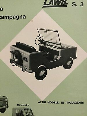 Rare Catalogue De Presse 1967 CYCLECAR LAWIL !!