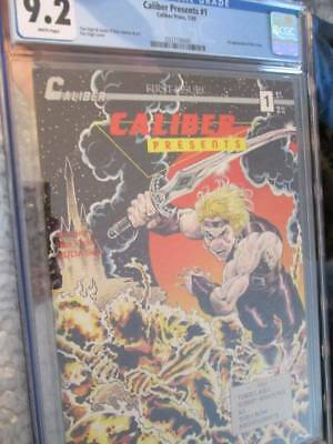 Caliber Presents #1 (1989)-CGC-White Pages-9.2 NM -First Appearance Crow