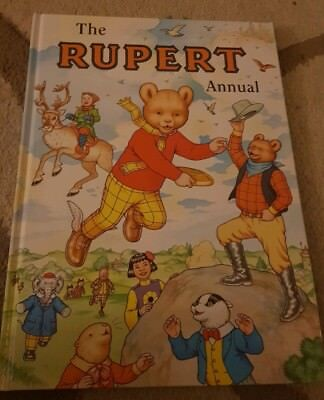 Rupert Bear Annual #64 Daily Express Harrold/Bestall