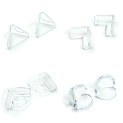 4/12pcs Clear Table Desk Corner Edge Guard Cushion Baby Safety Protector SKY