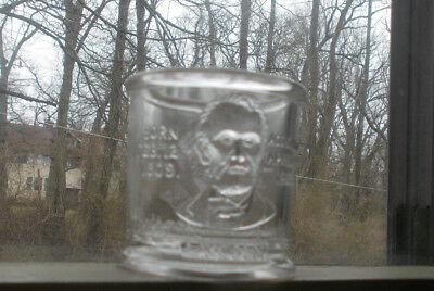 1881 Garfield Lincoln Our Countrys Martyrs Handless Cup Toothpick Holder