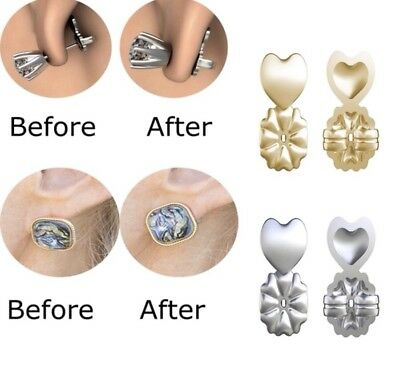 Magic Bax Earring Lifters Backs Hypoallergenic Sealed! SameDay Free Ship 2 Pairs