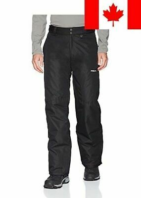 Arctix Men's Classic Snow Ski Pants, Medium, Black