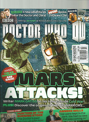 Doctor Who Magazine Issue 459 May 2013 Mars Attacks!