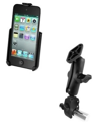 Small Tough-Claw Tube Rail Mount Holder for Apple iPod Touch 4th Generation