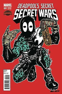 Deadpool's Secret Wars #1 Nick Gazin RTJ Run the Jewels Variant NM-