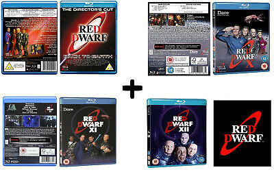 Red Dwarf (2009-2017): New Series - Back To Earth 9, X 10, Xi 11, Xii 12 Blu-Ray