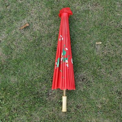 Handmade Chinese Cloth Floral Umbrella Wedding Dance Props Decoration