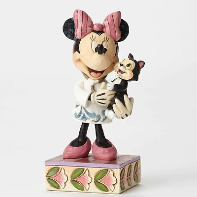Disney Traditions Veterinarian Minnie Mouse With Cat by Jim Shore 4049631
