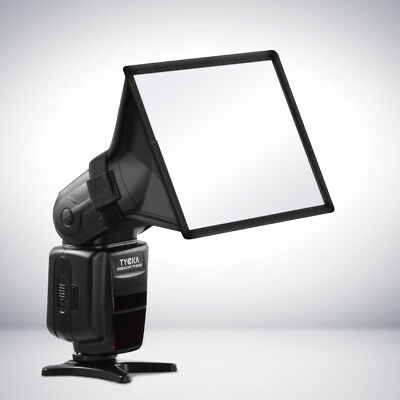 "TYCKA 6x5"" 15x13cm Portable Flash Softbox Diffuser For Canon SpeedLight TK8"