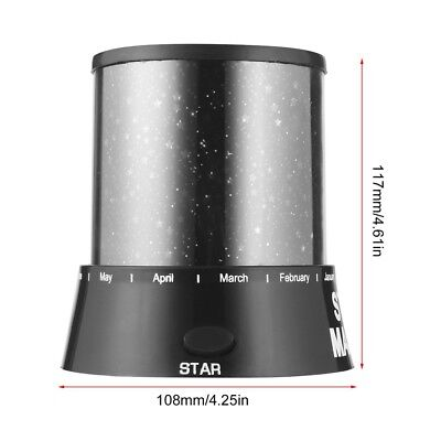 Night Romatic Gift Cosmos Star Sky Master Projector Starry Night Light Lamp BE