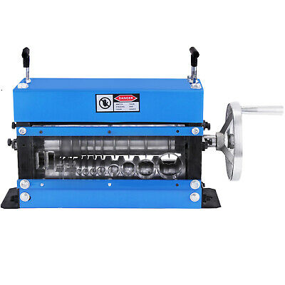 Manual Wire Stripping Machine 40mm 10 blades Portable Copper Industrial GREAT