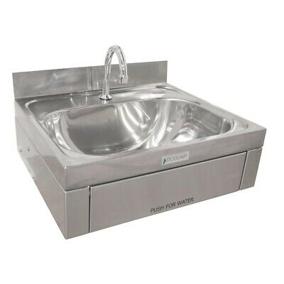 Stoddart Plumbing 11 Litre Wash Basin Knee Operated With Splashback BARGAIN