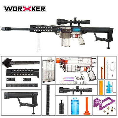 Worker Mod Prophecy-R Stefan Kits Combo 12 Items for Nerf Modify Toy