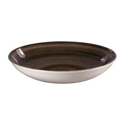 Churchill Stonecast Patina Coupe Bowls Black 248mm (Pack of 12) BARGAIN