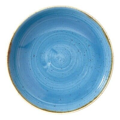 Churchill Stonecast Round Coupe Bowl Cornflower Blue 248mm (Pack of 12) BARGAIN