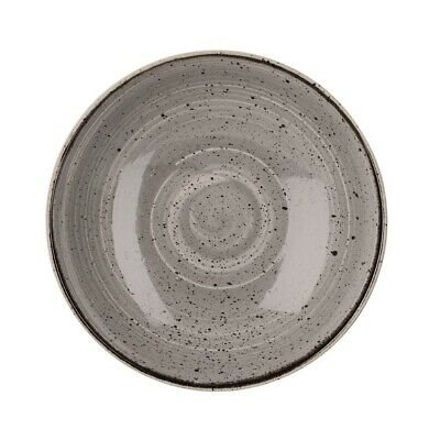 Churchill Stonecast Round Coupe Bowl Peppercorn Grey 220mm (Pack of 12) BARGAIN