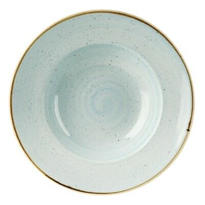 Churchill Stonecast Round Wide Rim Bowl Duck Egg Blue 280mm (Pack of 12) BARGAIN