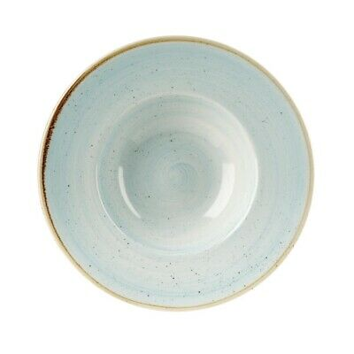 Churchill Stonecast Round Wide Rim Bowl Duck Egg Blue 240mm (Pack of 12) BARGAIN