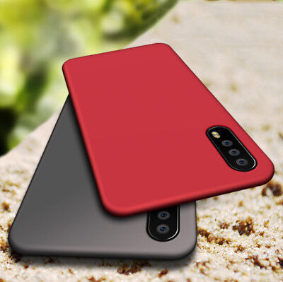 For Huawei P20 Pro/Lite Shockproof Ultra-Silm Matte Soft Silicone TPU Case Cover