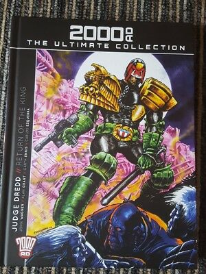 Judge Dredd 2000AD Ultimate Collection book