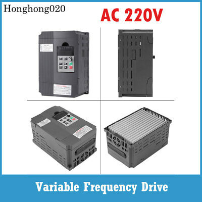 2.2KW 12A 220V VARIABLE FREQUENCY DRIVE Speed Control INVERTER VFD Single Phase