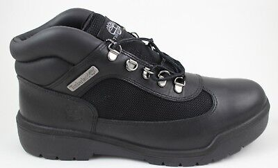 Timberland Men's Icon Field Boot TB0 13061 Black Brand New in Box Leather