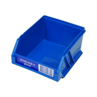 STB5B FISCHER PLASTIC Extra Small Parts Drawer Blue Stor-Pak Containers