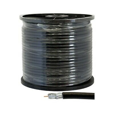 RG6QDR-100M DOSS Quad Shield Rg6 - 100M Roll 75 Ohm Coax Cable - Per Roll