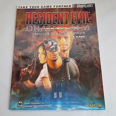 Resident Evil Dead Aim Official Strategy Guide By BradyGames