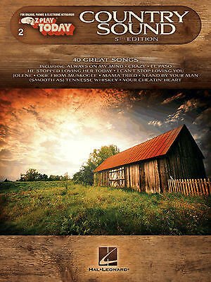 E-Z Play Today 2 - COUNTRY SONGS - Easy Play Keyboard Organ Music Book Songs EZ