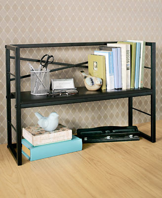 The Lakeside Collection Desktop Shelf Black