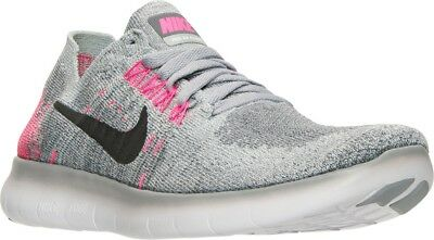 pretty nice 8748a b2e6d NIKE FREE RN Flyknit 2017 Youth Womes Running Shoes Sneakers 881974 001