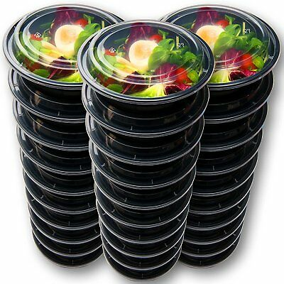 30 Meal Prep Containers Reusable - Disposable Take Out Food Containers - NO TAX