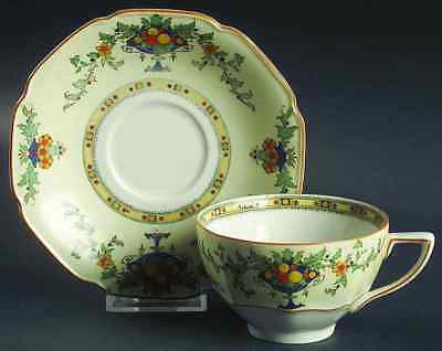 Crown Ducal A1476 (SCALLOPED) Cup & Saucer 91306