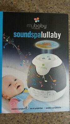 New HoMedics Mybaby SoundSpa Portable Night Lullaby Projection and Sound Machine