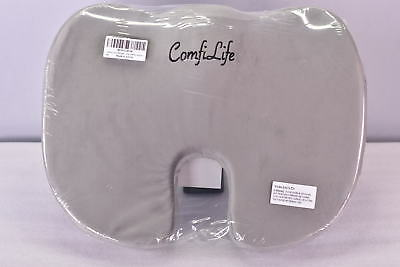 ComfiLife Premium Orthopedic Memory Foam Comfort Seat Cushion, Grey