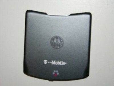 NEW T-MOBILE Motorola Razr V3E BACK BATTERY COVER - Gray