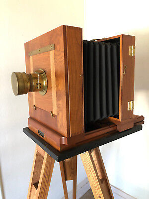Wetplate camera complete kit. Large format 8x10