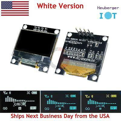 "0.96"" IIC Serial White OLED Display 128x64 I2C SSD1306 12864 Arduino LCD Screen"