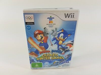 Mario & Sonic At The Olympic Winter Games | Nintendo Wii | Pal | Complete